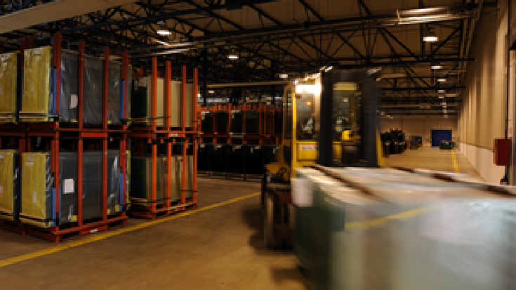 Extensive warehouse and distribution network of AGC Automotive