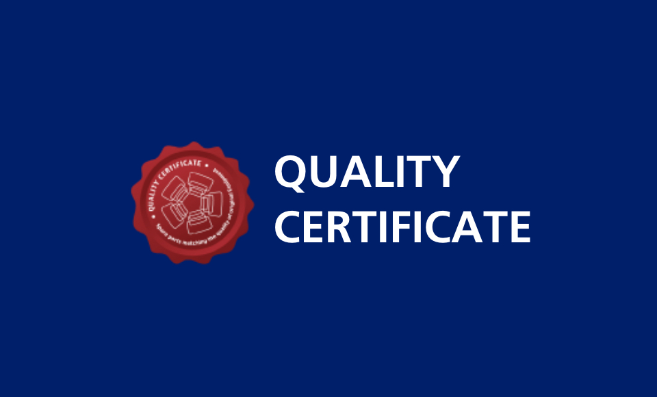 AGC Quality Certificate