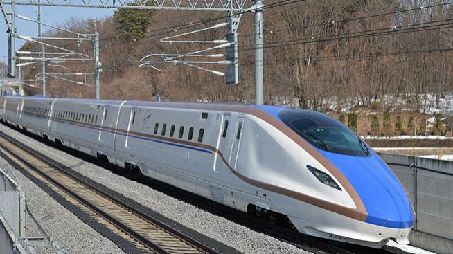 AGC's Glass Used for All Vehicles of New Hokuriku Shinkansen Line