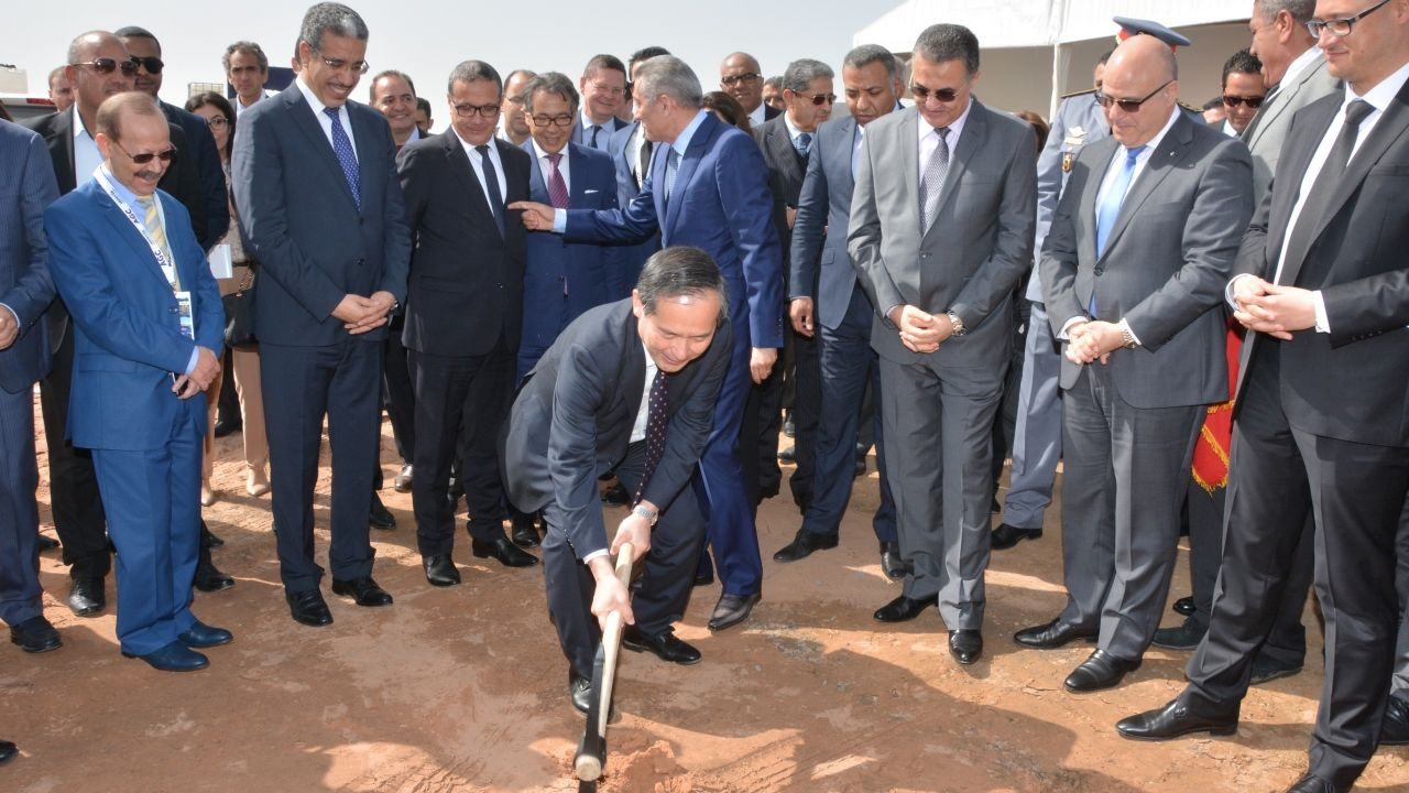 AGC Automotive Induver Morocco lays foundation stone for its automotive glass plant in Kenitra (Morocco)